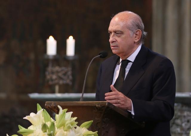 Na snímke španielsky minister vnútra Jorge Fernández Díaz