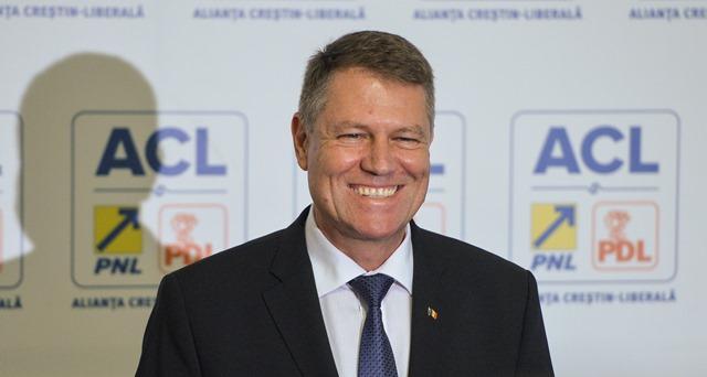 Na snímke rumunský prezident Klaus Iohannis