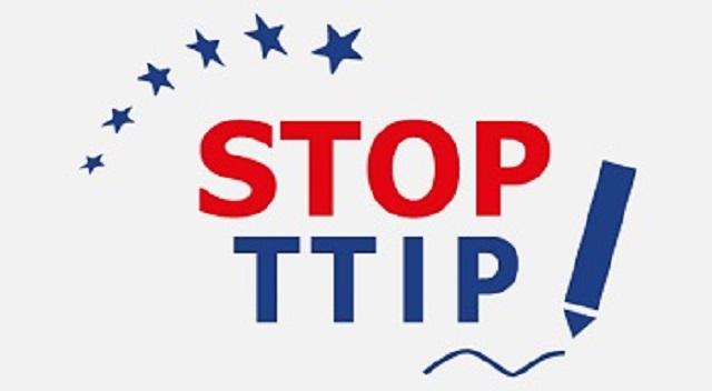 Logo iniciatívy STOP TTIP
