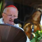 Na snímke kardinál Stanisław Dziwisz