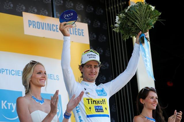 Na snímke slovenský cyklista Peter Sagan