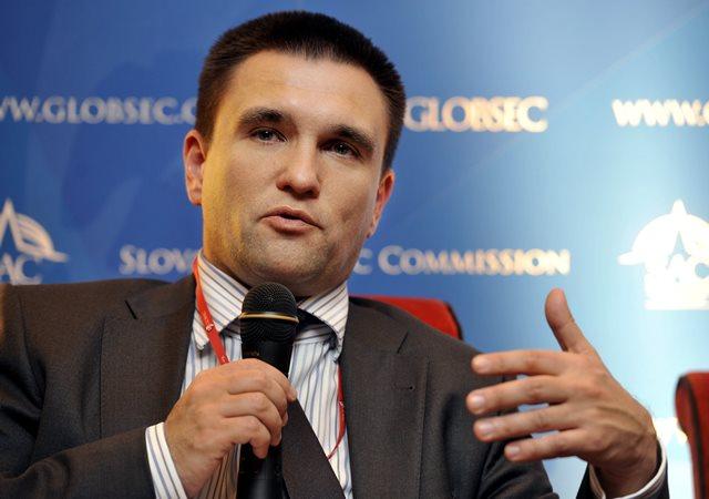 Na símke námestník ministra zahraničných vecí Ukrajiny Pavlo Klimkin