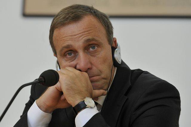 Na snímke poľský minister zahraničných vecí Grzegorz Schetyna