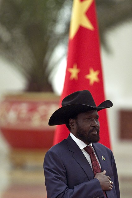 Na snímke juhosudánsky prezident Salva Kiir