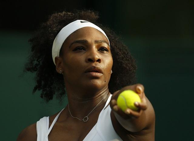Na snímke Serena Williamsová