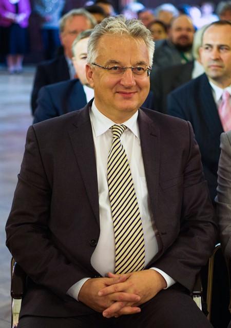 Na snímke maďarský vicepremiér Zsolt Semjén