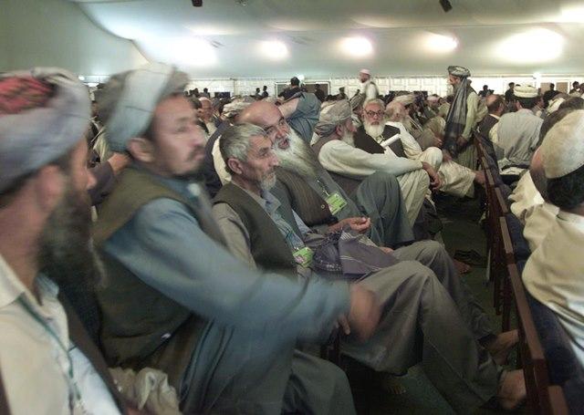 Na snímke poslanci afganského parlamentu