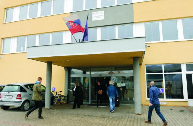 Na snímke daňový úrad Košice