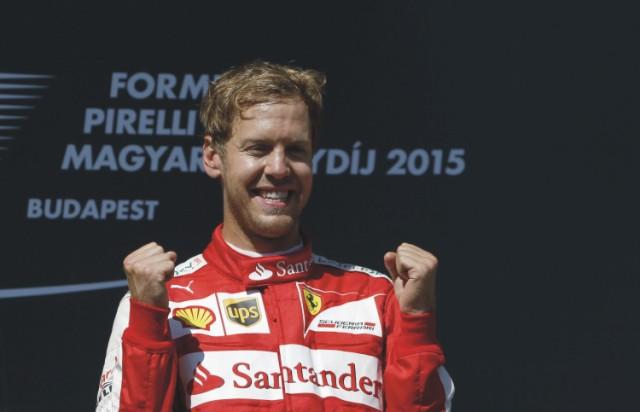 Na snímke Sebastian Vettel