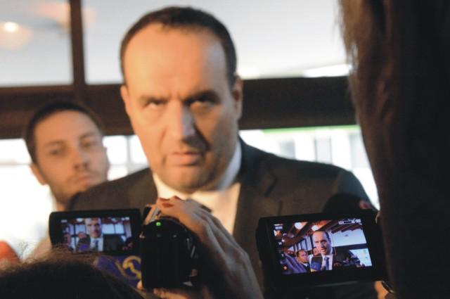 Na snímke Pavol Frešo
