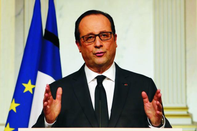 Francúzsky prezident Francois Hollande