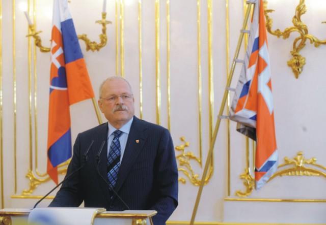 Na snímke exprezident SR Ivan Gašparovič