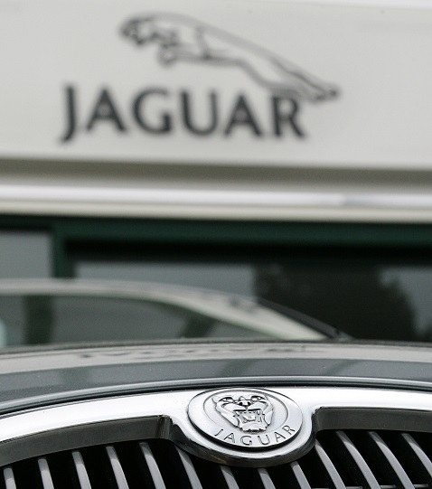 Znak automobilky Jaguar