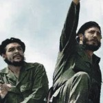 Slávny Che Guevara a  Fidel Castro