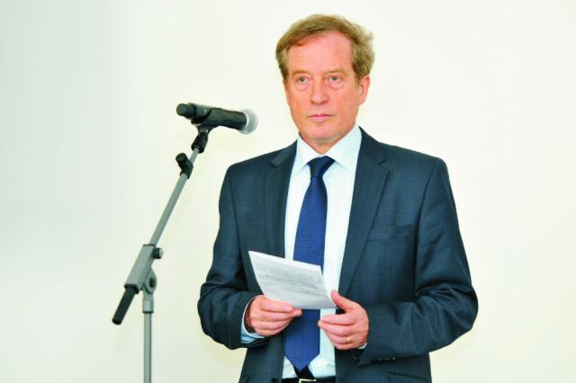 Na snímke veľvyslanec Francúzskej republiky na Slovensku Didier Lopinot