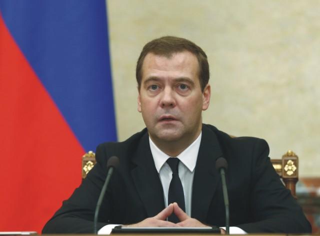 Ruský premiér Dmitrij Medvedev