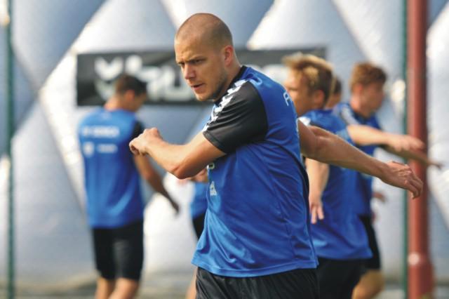 Na snímke hráč FK Senica Petr Pavlík
