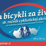 Na snímke logo 18. ročníka cyklistickej akcie Na bycilki za život