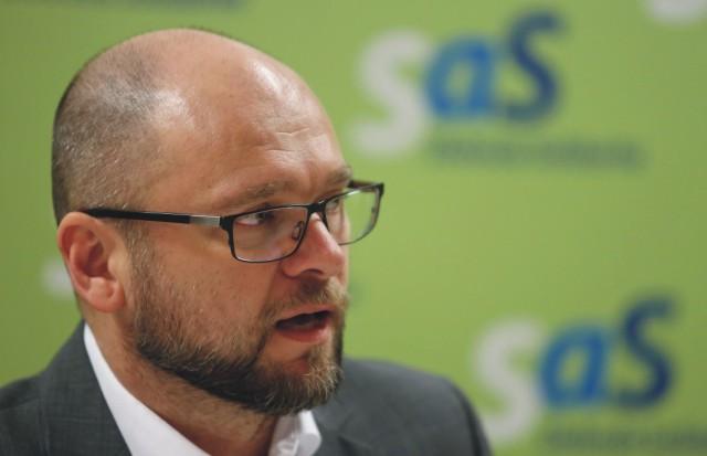 Predseda strany Sloboda a Solidarity (SaS) Richard Sulík