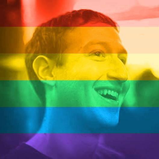 Na snímke Mark Zuckerberg