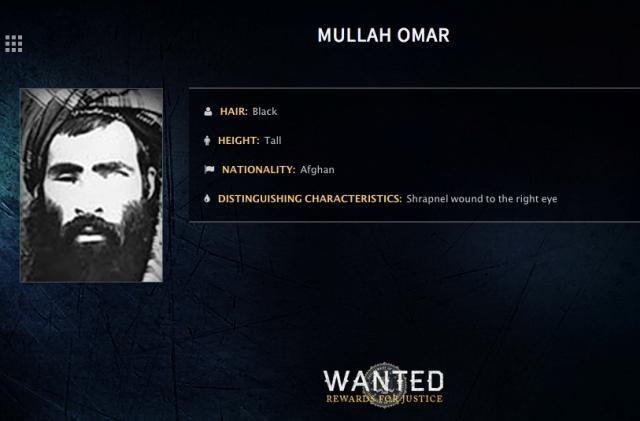 Na nedatovanej snímke Muhammad mulla Umar