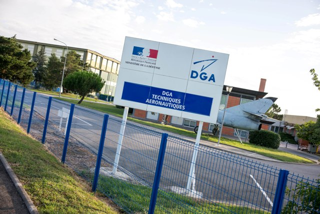 Na snímke pohľad na exteriér sídla laboratórií DGA-TA v mestečku Balma neďaleko francúzskeho mesta Toulouse, kde sa špecializujú na vyšetrovanie leteckých nešťastí