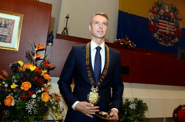 Na snímke primátor Košíc Richard Raši