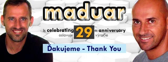 Na snímke Maduar