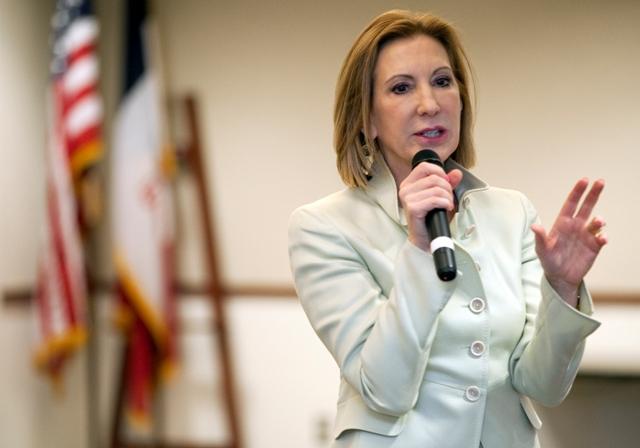Na snímke bývalá riaditeľka spoločnosti Hewlett-Packard (HP) Carly Fiorina