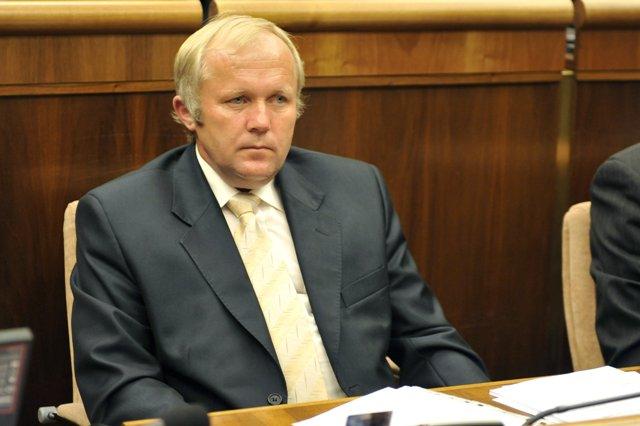 Na snímke poslanec Národnej rady SR za OĽaNO Martin Fecko
