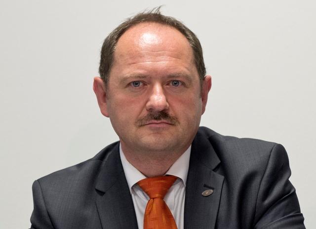 Na snímke podpredseda strany Most-Híd Zsolt Simon