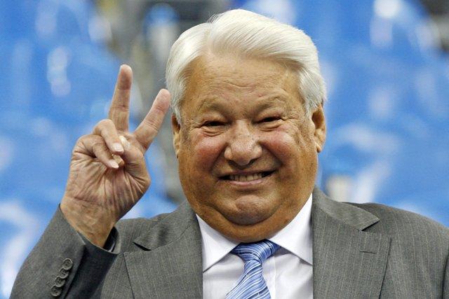 Na snímke bývalý ruský prezident Boris Jeľcin