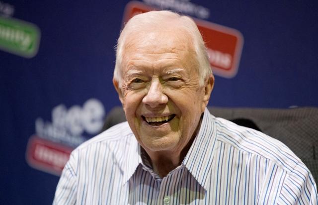 Na snímke bývalý americký prezident Jimmy Carter