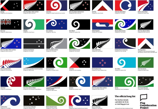Foto:TASR-New Zealand Flag Consideration Project via AP