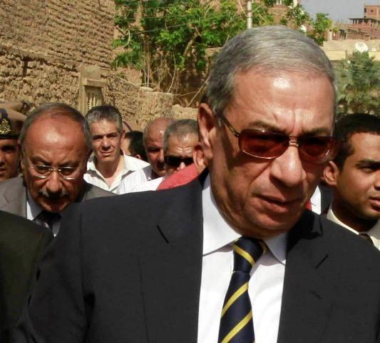 Na snímke egyptský generálny prokurátor Hišám Barakát