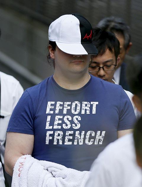 Japonská polícia zatkla 1. augusta 2015 v Tokiu výkonného riaditeľa skrachovanej spoločnosti MtGox Marka Karpelesa.