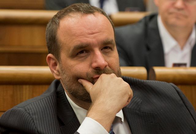 Na snímke opozičný poslanec  Pavol Frešo z SDKÚ-DS