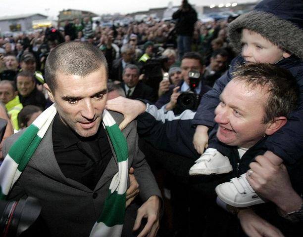 Na snímke Roy Keane (vľavo)