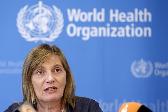 Na snímke asistentka generálneho riaditeľa Svetovej zdravotníckej organizácie (WHO)  Marie-Paule Kienyová.