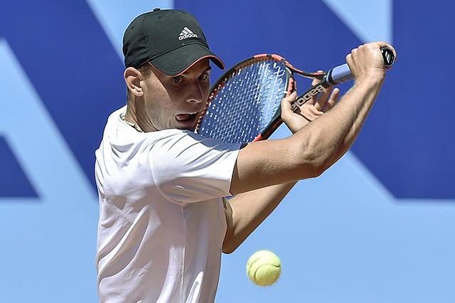 Na snímke rakúsky tenista Dominic Thiem
