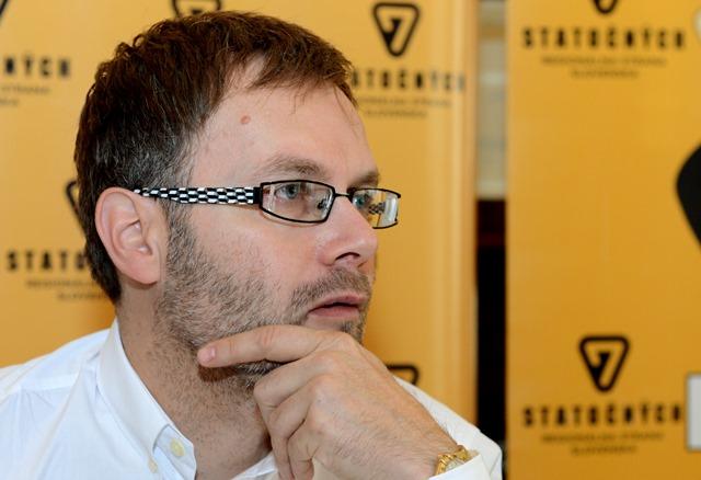 Na snímke Vladimír Gürtler