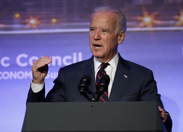Na snímke Joe Biden