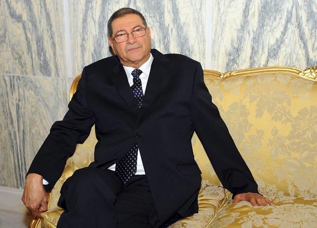 Na snímke Habib Essid
