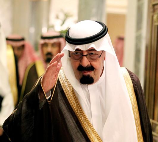 Na snímke saudskoarabský kráľ Abdalláh