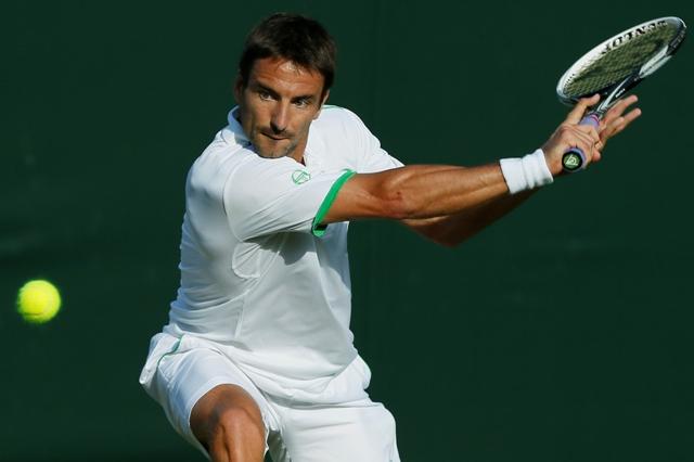 Na snímke španielsky tenista Tommy Robredo