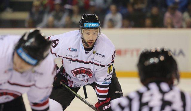Na snímke Colton Gillies (Banská Bystrica)