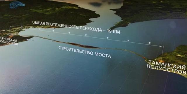 Rusko začalo budovať Kerčenský most