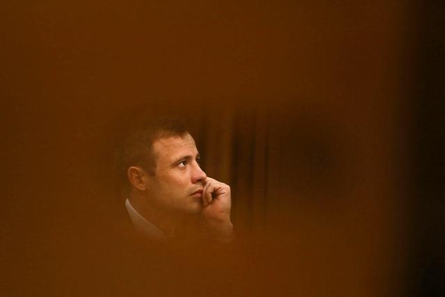 Na snímke Oscar Pistorius