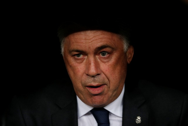 Na snímke Carlo Ancelotti