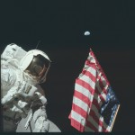 Mesiac vyfotografovaný astronautmi z NASA